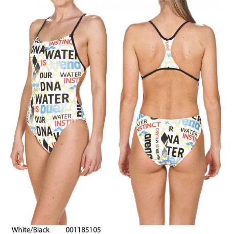 64796fe4898e04 White/Black - Costume Intero Donna Evolution Arena