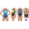 Swimsuit Woman One Placed Print Arena