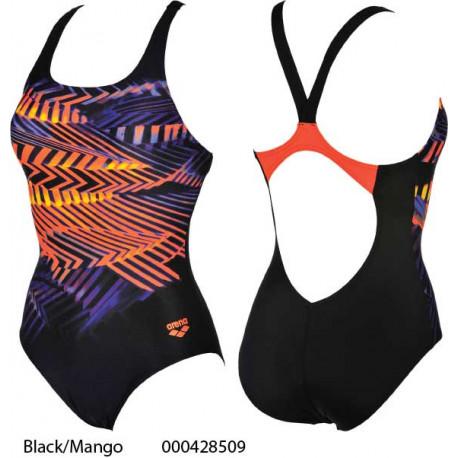 Black/Mango - Swimsuit Woman Spike Arena