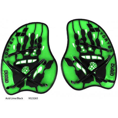 Acid Lime/Black - Vortex Evolution Hand Paddle Arena