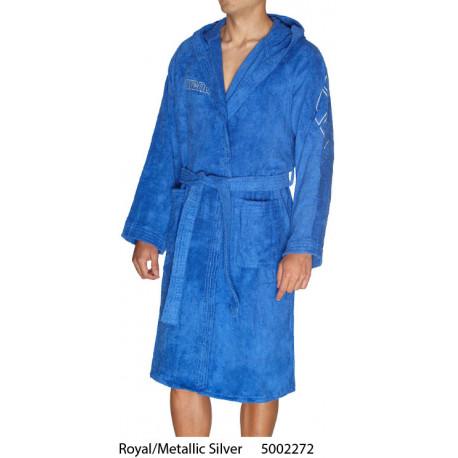 Royal/Metallic Silver - ZODIACO Arena bathrobe