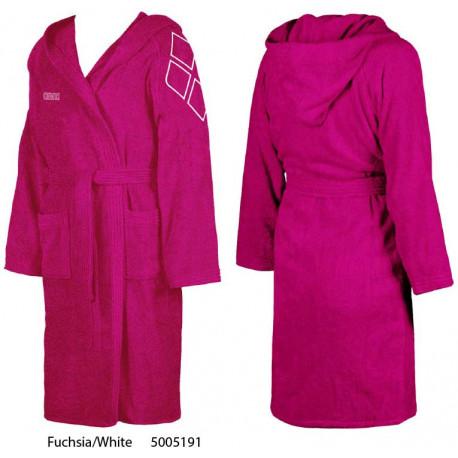 Fuchsia/White - ZODIACO Kids Arena bathrobe
