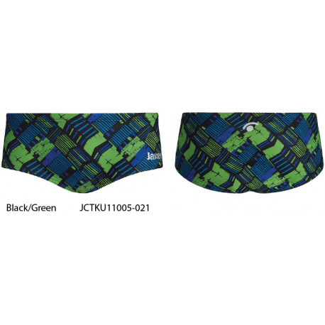 Black/Green - Jaked TRACK Trunk