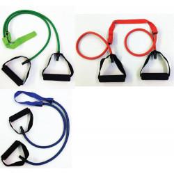 Elastico tubolare con maniglie per il nuoto