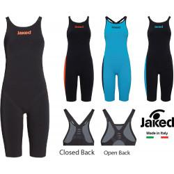 JKeel Knee Suit JAKED aperto/chiuso dietro - costume da gara donna