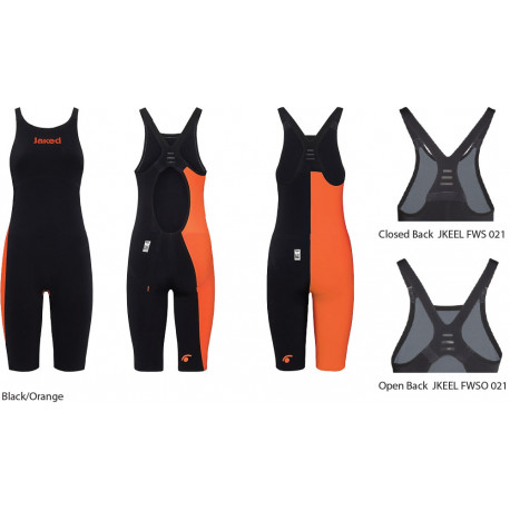 JKeel Knee Suit JAKED - black/orange