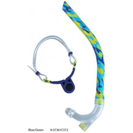 Blue/Green - Respiratore frontale Speedo