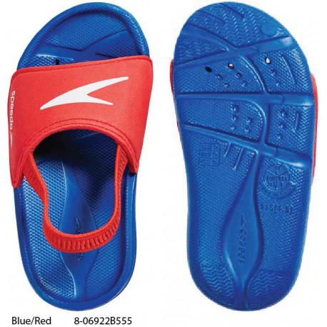 Blue/Red - Speedo Atami Sea Squad Infant Slides