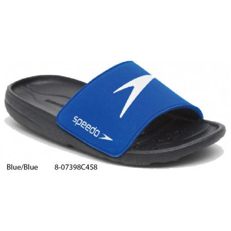 Blue/Blue - Speedo Junior Atami Core Slides