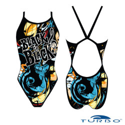 BLACK IS BLACK Girl Turbo