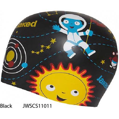 Black - Jaked Sputnik Swim Cap
