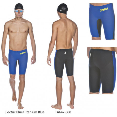 Electric Blue/Titanium Blue - Powerskin Carbon Air Jammer ARENA