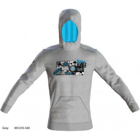 Grey - Graphics Hoodie felpa Uomo Arena