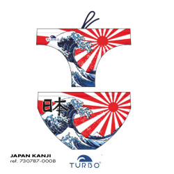 Costume uomo turbo Japan Kanji 2019