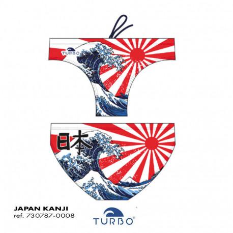 Costume uomo turbo Japan Kanji 2019