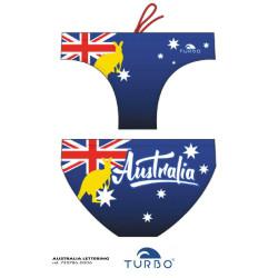 Costume uomo turbo Australia Lettering 2019