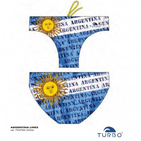 Costume uomo turbo Argentina 2019