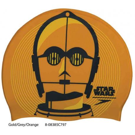 Gold/Grey/Orange - Cuffia Star Wars Speedo