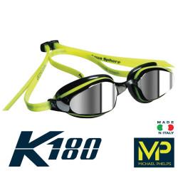 Yellow/Black - K180 Mirror Goggle MP