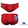 Costume uomo Turbo Red Waves 2019