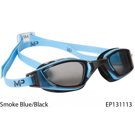 MP XCEED swim goggles - Smoke Blue/Black