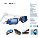MP XCEED swim goggles - Blue White/Black