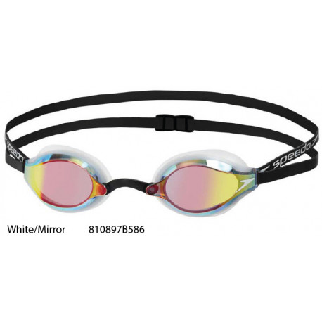 White/Mirror - Fastskin Speedsocket 2 Mirror Goggle