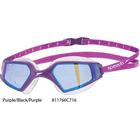 Purple/Black/Purple - Google Aquapulse Max Specchiati 2 Speedo
