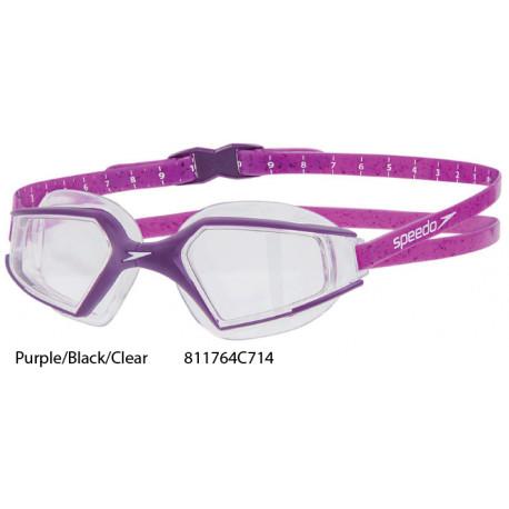 Purple/Black/Clear - Aquapulse Max 2 Speedo occhialini nuoto
