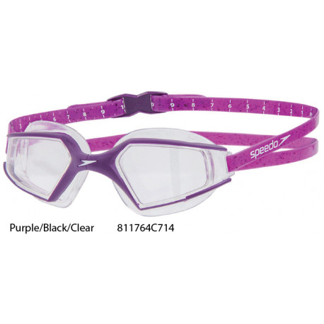 Purple/Black/Clear - Speedo Aquapulse Max 2 Swimming Goggles