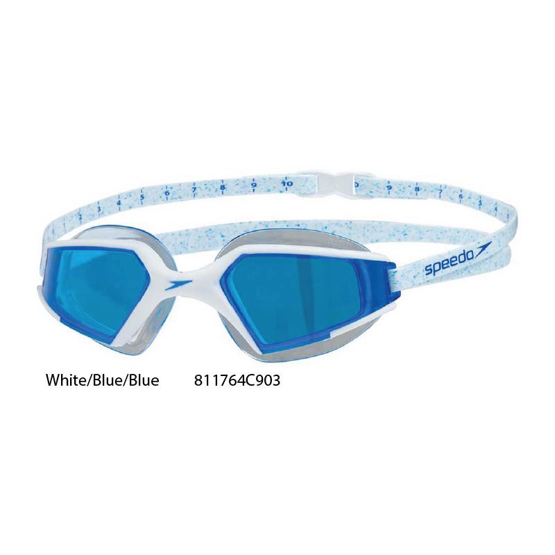 17fa30b7aa17 ... White/Blue/Blue - Aquapulse Max 2 Speedo occhialini nuoto ...