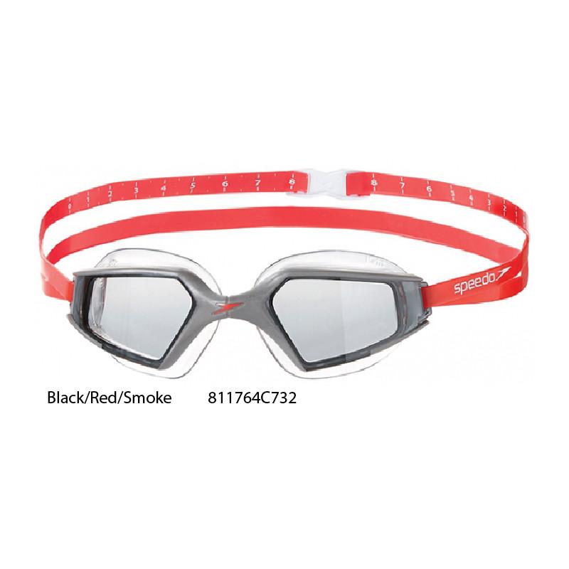 0cc77144c7fd ... Black/Red/Smoke - Aquapulse Max 2 Speedo occhialini nuoto ...
