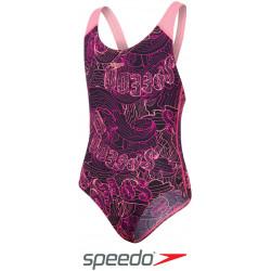 Costume piscina bambina 8 10 12 14 anni - Allover Splashback Speedo