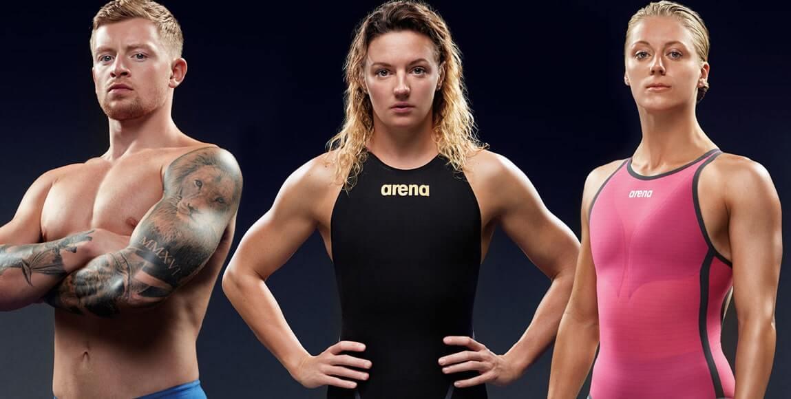 Arena competition swimwear