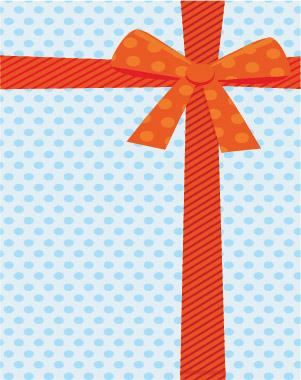 Swim gift card