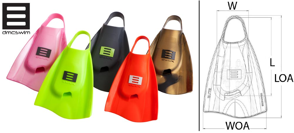 cbc7764e1c These award winning swim training short fins are Australian Designed. DMC  ELITE SWIM Fins are the World's most sought after swimming training fins.