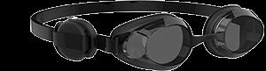 Polar Verity Sense mounted on goggles swimming