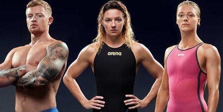 Arena competitive swimwear