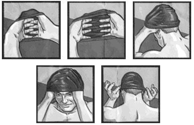 Come indossare le cuffie per il nuoto