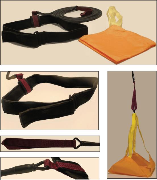 Particolari del kit per allenamento della potenza-resistenza