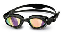 Occhialini nuoto a lente specchiata