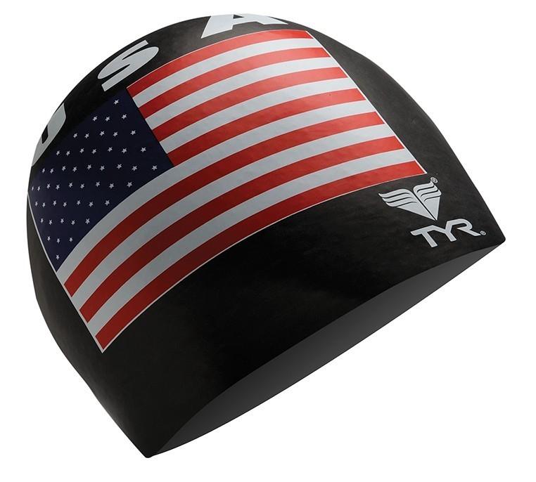 Cuffia bandiera americana USA TYR